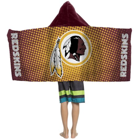 "NFL Washington Redskins ""Dots"" Youth Hooded Towel"