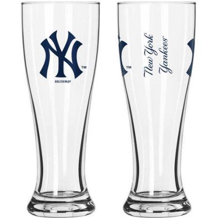 MLB New York Yankees 2-Pack Gameday Pilsner Set