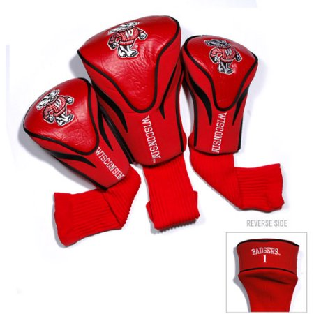 NCAA Wisconsin Badgers 3 Pack Contour Head Covers