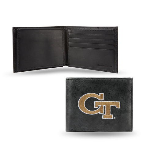 NCAA Men's Georgia Tech Yellow Jackets Embroidered Billfold Wallet