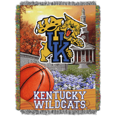 "NCAA 48"" x 60"" Tapestry Throw Home Field Advantage Series- Kentucky"
