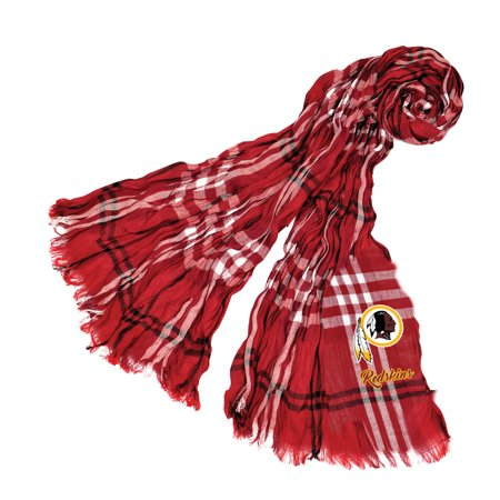 Little Earth - NFL Crinkle Plaid Scarf, Washington Redskins