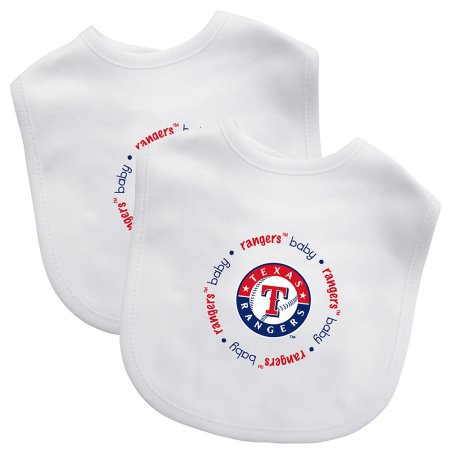 MLB Texas Rangers 2-Pack Bibs
