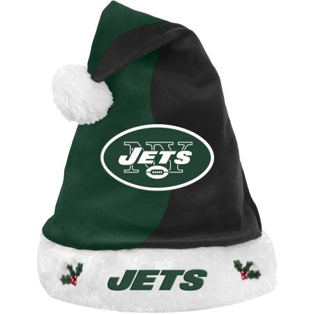 Forever Collectibles NFL Santa Hat, New York Jets
