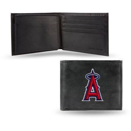 MLB Men's Los Angeles Angels Embroidered Billfold Wallet