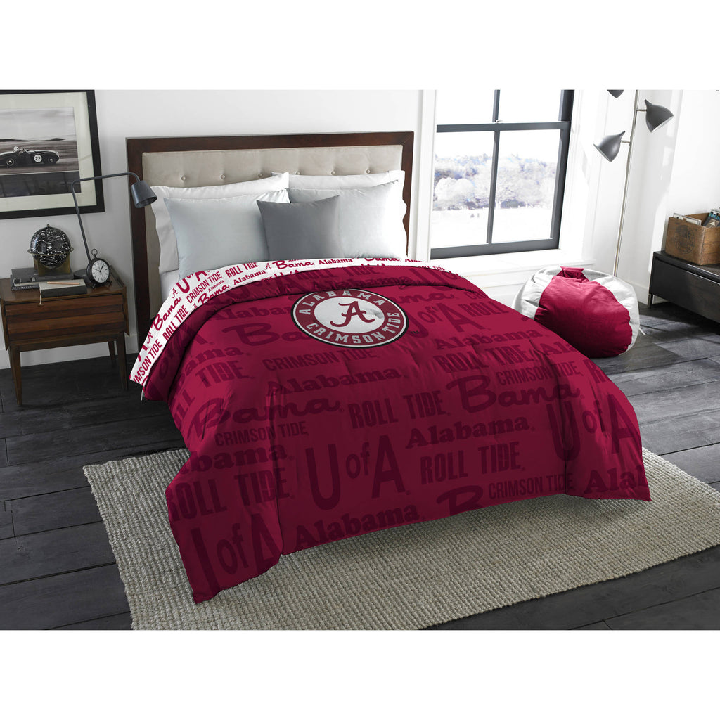 "NCAA Alabama Crimson Tide ""Anthem"" Twin/Full Bedding Comforter"
