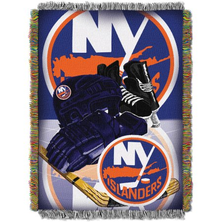 "NHL 48"" x 60"" Home Ice Advantage Series Tapestry Throw, Islanders"