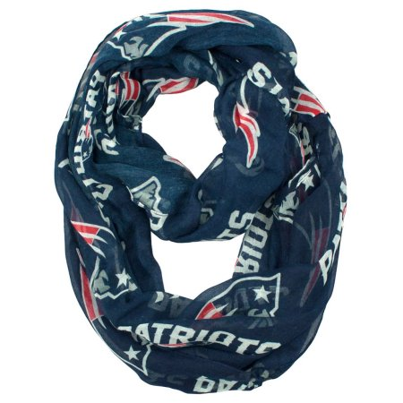 NFL New England Patriots Sheer Infinity Scarf - Little Earth