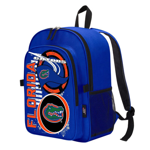 "Florida Gators ""Accelerator"" Backpack and Lunch Bag / Box Set"