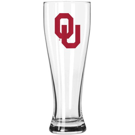 Boelter Brands NCAA University of Oklahoma Sooners 23-Ounce Grand Pilsner with Full Color Team Logo