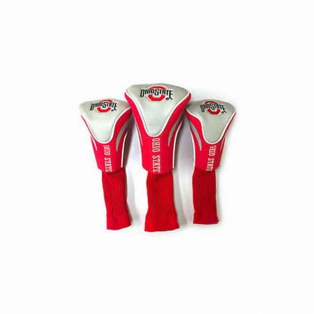 NCAA Ohio State Buckeyes 3 Pack Contour Head Covers