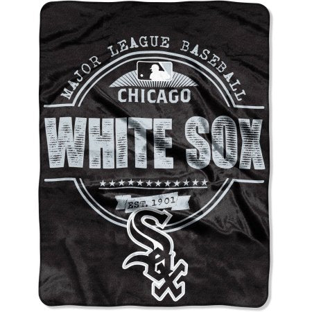 "Chicago White Sox ""Structure"" 46"" x 60"" Micro Raschel Throw Blanket"
