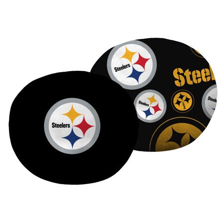"NFL Pittsburgh Steelers 11"" Cloud Travel Pillow"