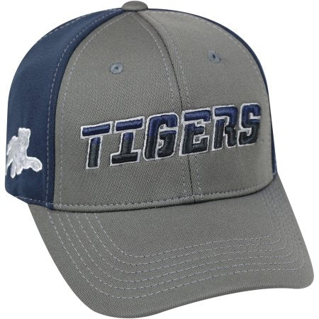 NCAA University of Jackson State Tigers Grey Two Tone Baseball Hat \ Cap