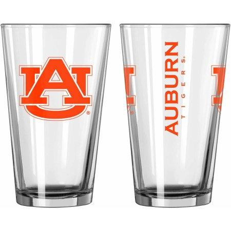 NCAA Auburn Tigers Set of Two 16 oz Game Day Pint Glasses