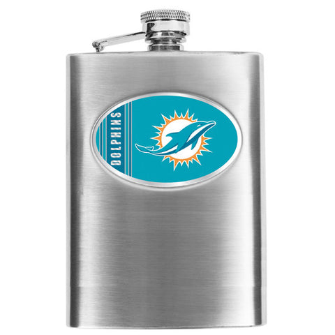 NFL Men's Miami Dolphins Hip Flask