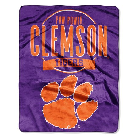 "NCAA Clemson Tigers ""Frame Up"" - Silk Touch Throw Blanket, 55"" x 70"""