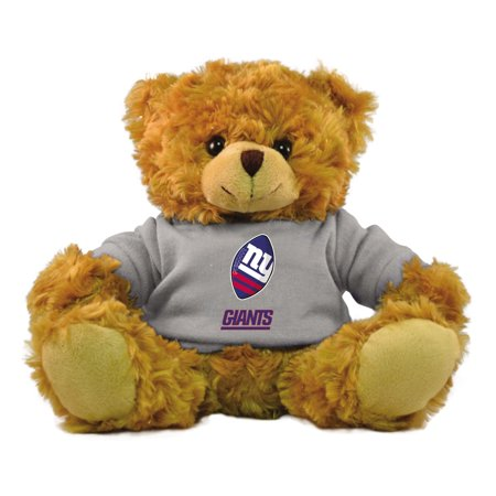 "Bleacher Creatures NFL 9"" Rally Men Hoodie Bear, New York Giants"