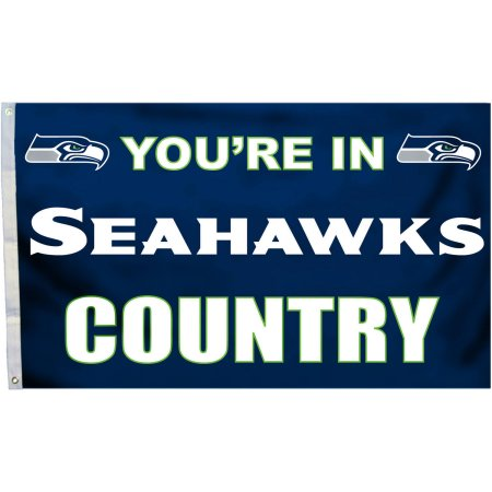 NFL Seattle Seahawks 3' X 5' Country Flag