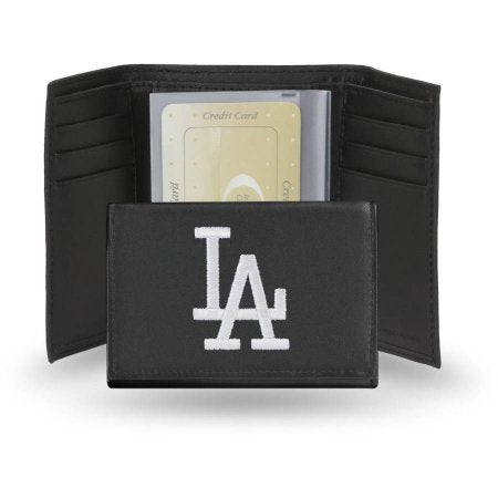 MLB Licensed Embroidered Trifold Wallet - Los Angeles Dodgers