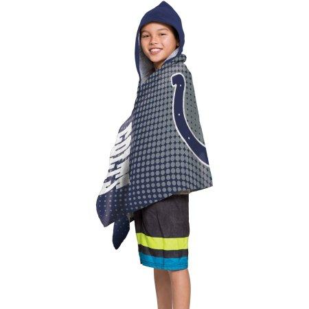 "NFL Indianapolis Colts ""Dots"" Youth Hooded Towel"