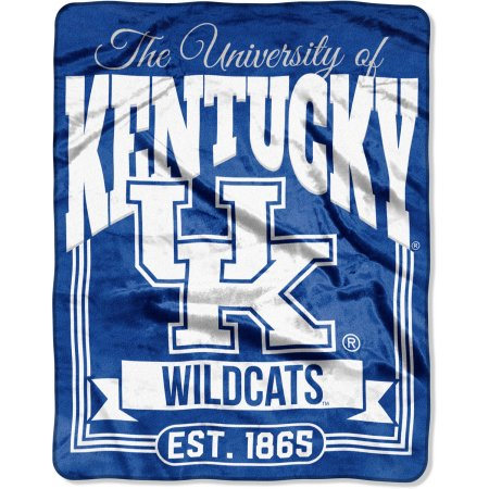 "NCAA Kentucky Wildcats ""Traction"" 55"" x 70"" Silk Touch Throw"