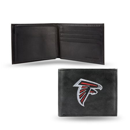 NFL Men's Atlanta Falcons Embroidered Billfold Wallet