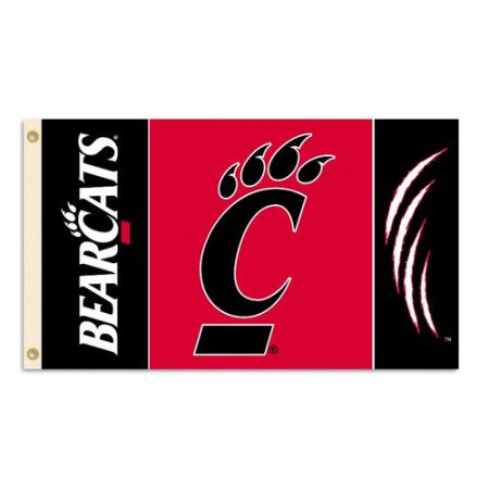 NCAA Cincinnati Bearcats 3' X 5' Flag