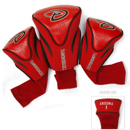 MLB Arizona Diamondbacks 3 Pack Contour Head Covers