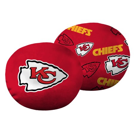 "NFL Kansas City Chiefs 11"" Cloud Travel Pillow"
