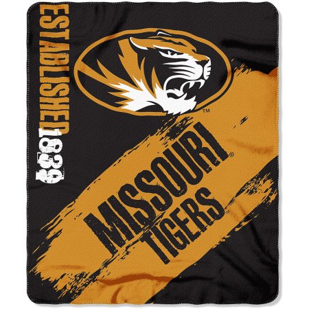 "NCAA Missouri Tigers 50"" x 60"" Fleece Throw"