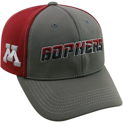 NCAA Minnesota Golden Gophers Grey Two Tone Baseball Adjustable Hat