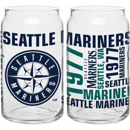 Boelter Brands Seattle Mariners Set of Two 16 Oz Spirit Glasses