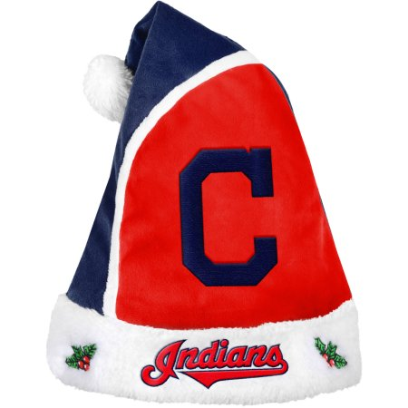 Forever Collectibles MLB Santa Hat - Cleveland Indians