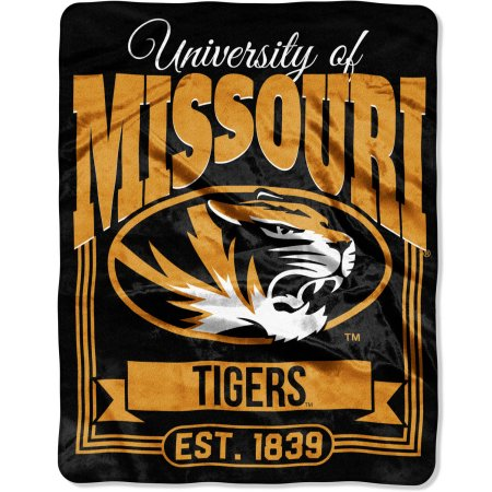"NCAA Missouri Tigers ""Traction"" 55"" x 70"" Silk Touch Throw"