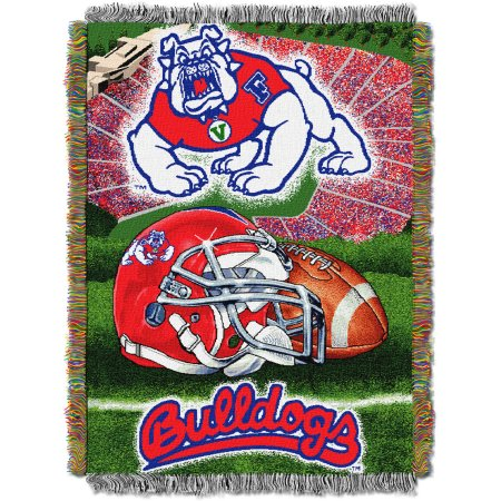 "NCAA 48"" x 60"" Tapestry Throw Home Field Advantage Series- Fresno State"
