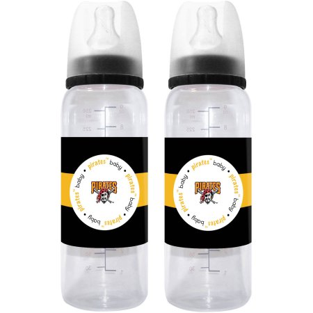 MLB Pittsburgh Pirates Baby Bottle - 2pk