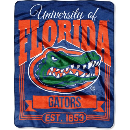 "NCAA Florida Gators ""Traction"" 55"" x 70"" Silk Touch Throw"