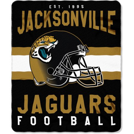 "NFL Jacksonville Jaguars ""Singular"" 50"" x 60"" Fleece Throw"