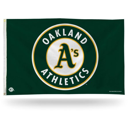 Rico Industries MLB 3' X 5' Banner Flag - Oakland Athletics