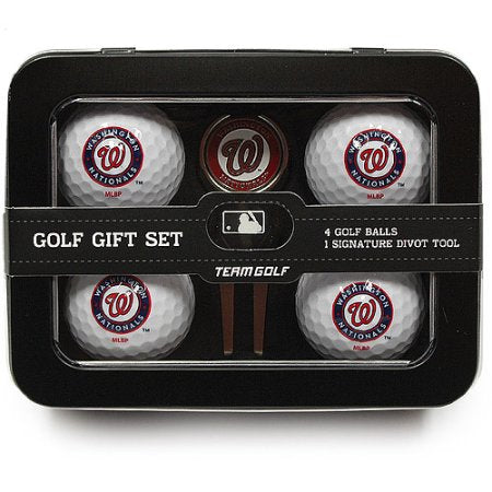 MLB Washington Nationals 4 Golf Ball And Divot Tool Set