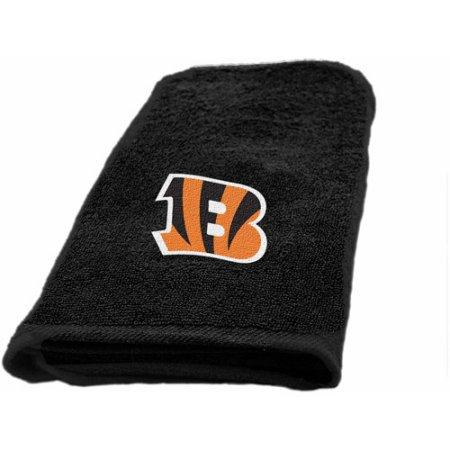 "NFL Cincinnati Bengals Decorative Bath Collection Fingertip Towel - 11"" x 18"""