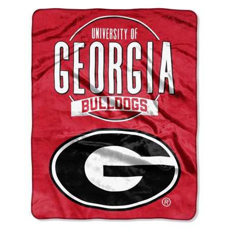 "NCAA Georgia Bulldogs ""Frame Up"" - Silk Touch Throw Blanket, 55"" x 70"""