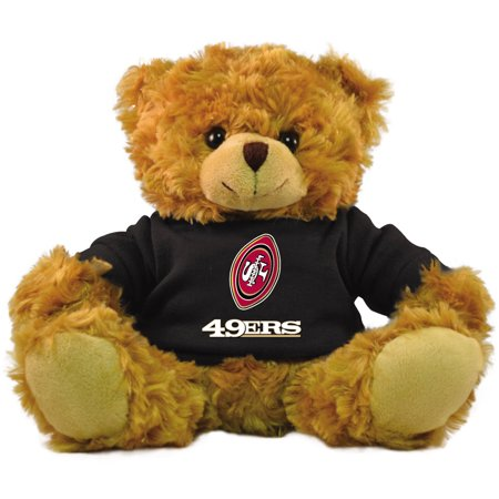 "Bleacher Creatures NFL 9"" Rally Men Hoodie Bear, San Francisco 49ers"