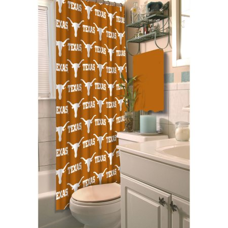 NCAA University of Texas Longhorns Shower Curtain