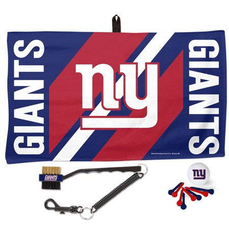 New York Giants WinCraft Waffle Towel Golf Gift Set - No Size