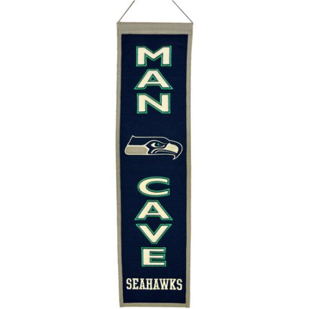 NFL Man Cave Banner - Seattle Seahawks