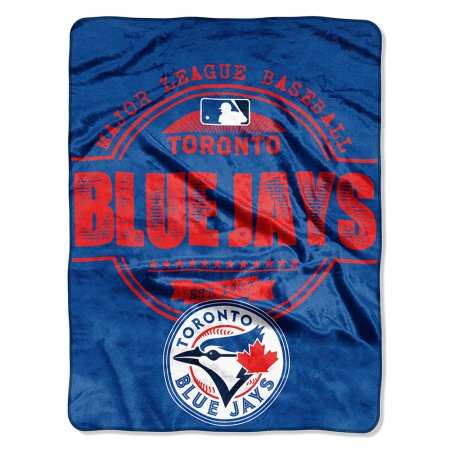 "MLB Toronto Blue Jays ""Structure"" 46"" x 60"" Micro Raschel Throw"