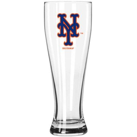 Boelter Brands MLB New York Mets 23-Ounce Grand Pilsner with Full Color Team Logo