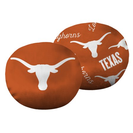 "NCAA Texas Longhorns 11"" Cloud Travel Pillow"